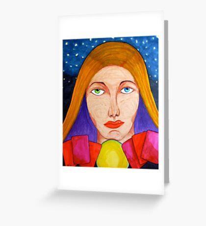 """""""Gypsy"""" Greeting Card"""