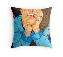 """Devil on My Shoulder"" Throw Pillow"