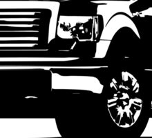 Built Tough - Ford Pick up Truck Sticker