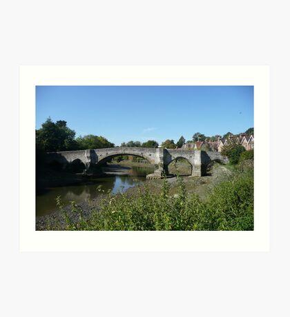 Aylesford Bridge Art Print