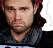 Sadface Satan Sticker