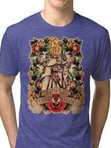 Simple Fixed Gear 02 Tri-blend T-Shirt