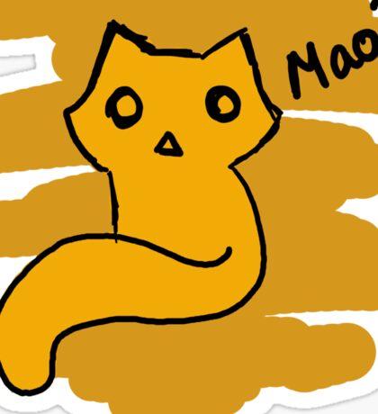Mao? Sticker
