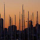 Melbourne Skyline by Keith Midson