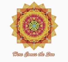 Here Comes the Sun ( sun salutation mandala) by LudaNayvelt