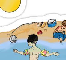 Shore Leave Sticker