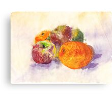 Fabulous Fruit Canvas Print