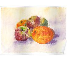 Fabulous Fruit Poster