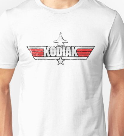 Custom Top Gun Style - Kodiak Unisex T-Shirt