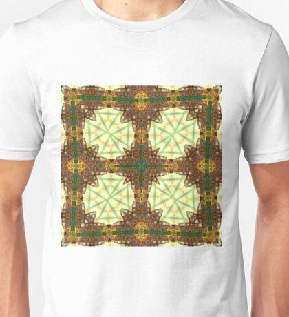 Kaleidoscope of rusty trucks Unisex T-Shirt