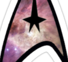 Cosmic Star Trek Insignia Sticker