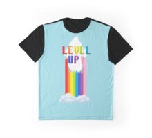 Custom Level Up! Design Graphic T-Shirt