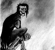 Gothic Gargoyle Perch by AbsinthTears