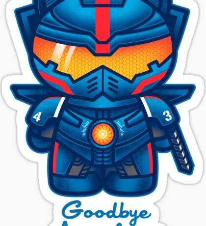 Goodbye Apocalypse Sticker