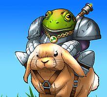 The Frog Knight by befarrar
