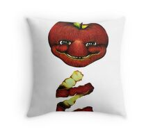 Apple Two-Seed Throw Pillow