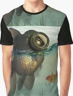 Fish eye lens Graphic T-Shirt