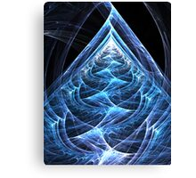 Folding Flowing Ascension Canvas Print