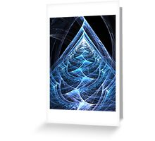 Folding Flowing Ascension Greeting Card