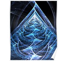 Folding Flowing Ascension Poster