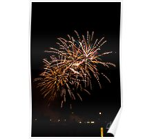 Firework - dotted Poster