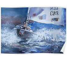 Sailing Boat Painting – Art Gallery 25 Poster