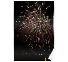 Firework - rain Poster