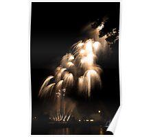 Firework - Light fall Poster