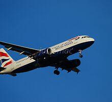 British Airways Airbus A320-232 G-EUYB by justbmac