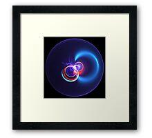 Light Blue Touch Paper Framed Print