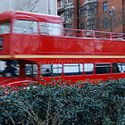 London: Bus in Motion by justbmac