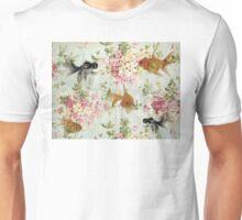 Goldfish wall paper Unisex T-Shirt