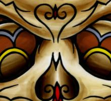 The Muertos Skull Sticker
