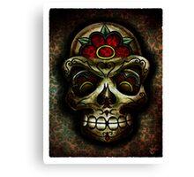 The Muertos Skull Canvas Print