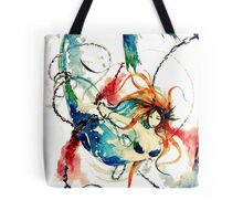 Mermaid Torture in Chains Tote Bag