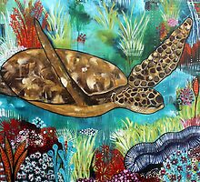 Sea Turtle by Rachel Ireland-Meyers