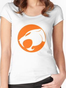 THUNDERCATS ORANGE Women's Fitted Scoop T-Shirt