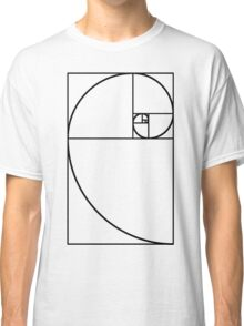 Golden Ratio - Transparent Classic T-Shirt