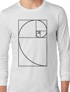 Golden Ratio - Transparent Long Sleeve T-Shirt