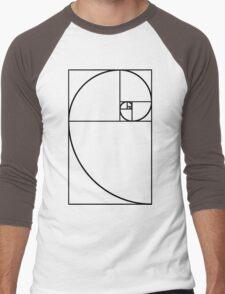 Golden Ratio - Transparent Men's Baseball ¾ T-Shirt
