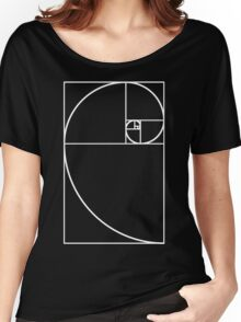 Golden Ratio - White  Women's Relaxed Fit T-Shirt