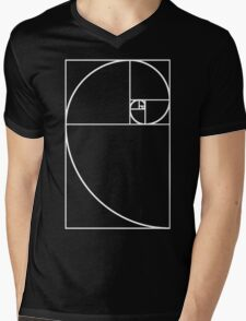 Golden Ratio - White  Mens V-Neck T-Shirt