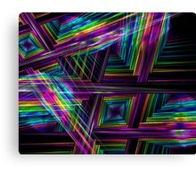 Electronic Art Canvas Print