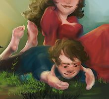 Bilbo and Belladonna by ewelock