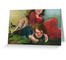Bilbo and Belladonna Greeting Card