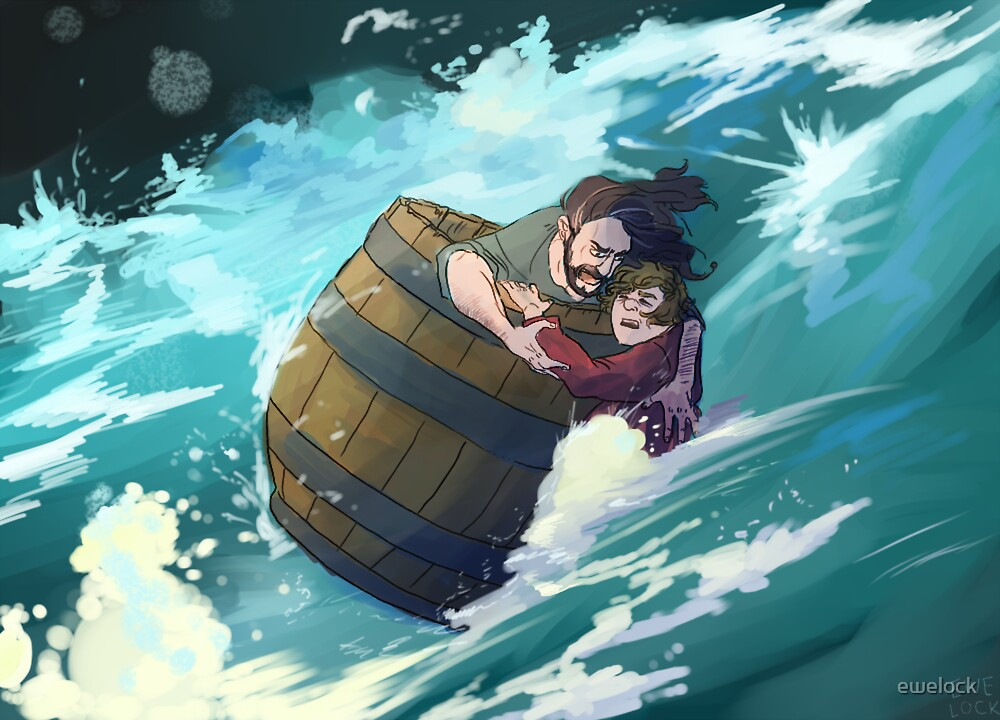 Master Baggins, hold on! by ewelock