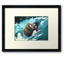 Master Baggins, hold on! Framed Print