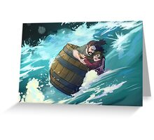Master Baggins, hold on! Greeting Card