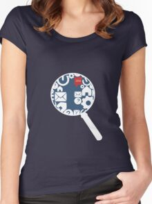 DashCon SWLH Team 221B Women's Fitted Scoop T-Shirt