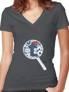DashCon SWLH Team 221B Women's Fitted V-Neck T-Shirt